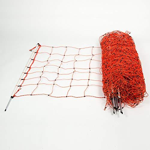 horizont Schafnetz │ Einzelspitze │ Höhe 90cm - Länge 50m │ Schafzaun, Weidezaun, Elektrozaun │ perfekt für den Schutz Ihrer Schafe