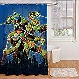 Nickelodeon Teenage Mutant Ninja Turtles 'Heroes' Shower Curtain