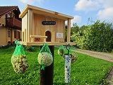 HÜWÜKNÜ Vogelhaus, Futterhaus Zur Knödelbude