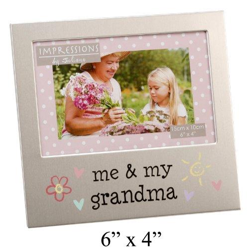 Me & My Grandma FA519GM - Marco de aluminio de 6