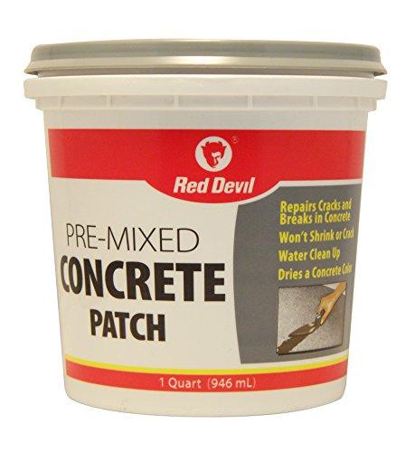 Red Devil 0644 Concrete Patch – 1 qt. – Gray