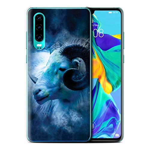 eSwish telefoonhoesje/Cover/Skin/HUAGP-CC/Zodiac Star Sign Collection Huawei P30 2019 Aries/Ram