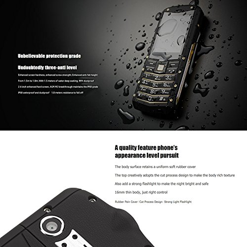 51ren7eisoL-「AGM M5」というAndroid Go搭載のフィーチャーフォンが年内に登場予定