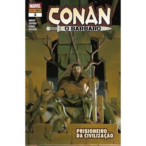 Conan, O Bárbaro - Volume 3 - Prisioneiro da Civilização