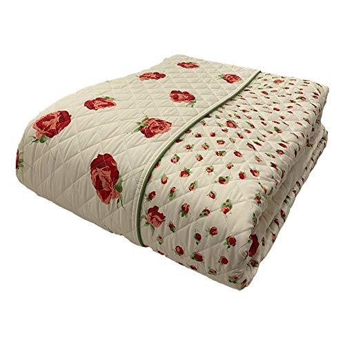 Blumarine Colcha acolchada para cama de matrimonio