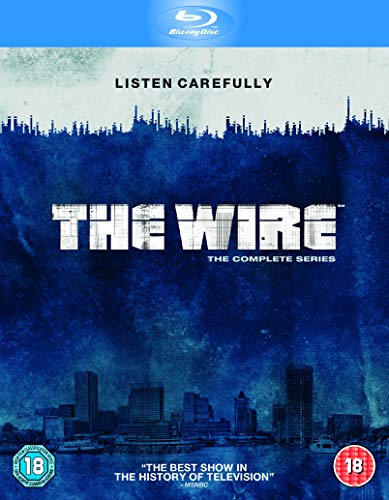 The Wire - The Complete Season 1-5 [Blu-ray] [Region Free]