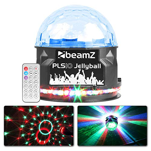 BeamZ PLS10 Jellyball Lichteffect en Bluetooth Speaker op Accu