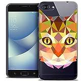 Ultra-Slim Polygon Animals Cat Case for Asus Zenfone 4 Max