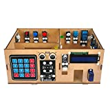 OSOYOO IoT Wooden House Learner Kit for Arduino MEGA2560 | STEM Set for Learning Internet of Things, Mechanical Building, Electrical Engineering, How to Code | Educational Coding for Kids Teens Adults