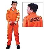 Child Got Busted Prisoner Costume - Medium (8-10)