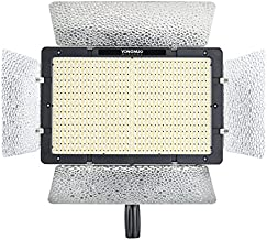 YONGNUO YN1200 Pro LED Video Light/LED Studio Lamp with 5600K Color Temperature and Adjustable Brightness for The SLR Cameras Camcorders, Like Canon Nikon Pentax Olympus Samsung Panasonic JVC etc.