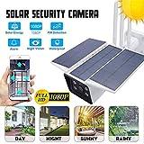Caméra de Surveillance Solaire Exterieure sans Fil 4G Étanche IP67, Solar Charge Débranché Réseau Téléphone Mobile de Surveillance À Distance 1080P HD IR Caméra De Sécurité IP Extérieure