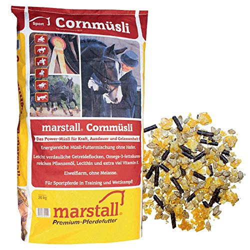 marstall Premium-Pferdefutter Cornmüsli, 1er Pack (1 x 20 kilograms)