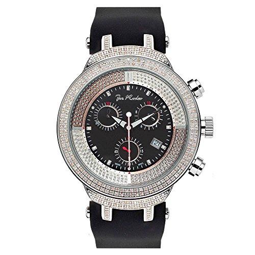 Joe de diamante reloj Rodeo para Hombre - MASTER plateado 2,2 de quilate