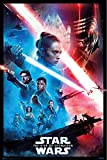 POSTER STOP ONLINE Star Wars The Rise of Skywalker - Movie Poster (Regular Style - Black Border) (Size 24 x 36')