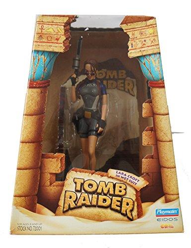 Playmates 72001 TOMB RAIDER 1998 - Deluxe Diorama Box - Lara Croft in Wet Suit - OVP