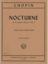 Chopin Frederick Nocturne In E-flat Major Op. 9 No. 2 for Cello and Piano by Popper - International