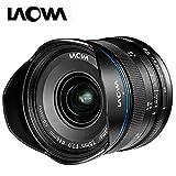 Laowa VE7520MFTSTBLK - Obiettivo da 7,5 mm per fotocamere Micro 4/3 (16,9 MP, HD 720p) nero