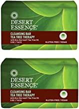 product image for Desert Essence Cleansing Bar Tea Tree Therapy With Eco-Harvest Tea Tree Oil, 5 oz (142 g) (Pack of 2)