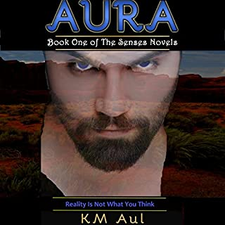 Aura audiobook cover art