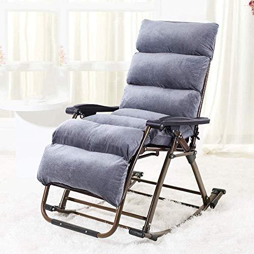 Suge Silla reclinable Gravedad Cero al aire libre con movimiento de balanceo for la relajación máxima admitida Peso 200Kg