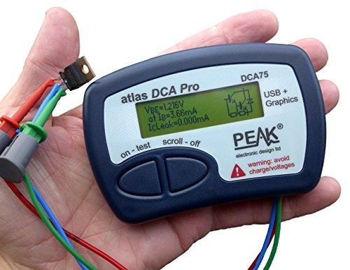 Peak Electronic Design DCA75 Atlas DCA Pro-Advanced Semiconductor Analizador