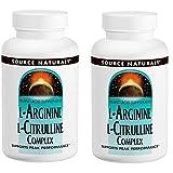 2個セット L-アルギニン & L-シトルリンコンプレックス 120タブレット - L-Arginine & L-Cirulline Complex 120 tabs
