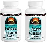 2個セット L-アルギニン & L-シトルリンコンプレックス 120タブレット - L-Arginine L-Cirulline Complex 120 tabs