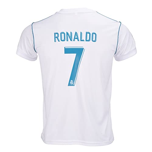 e5c7d84d371  7 Cristiano Ronaldo Home Kid Soccer Jersey   Matching Shorts Set 2018 2019