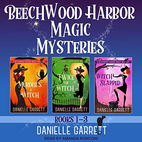 The Beechwood Harbor Magic Mysteries Boxed Set audiobook cover art