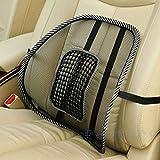 NEW Car Seat Office Chair Back Lumbar Massage Mesh Ventilate Cushion Support Pad Mat