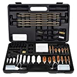 Hitaim Gun Cleaning Kit for All Guns Hunting Rifle Handgun Shotgun Cleaning Kit Universal Supplies with Carrying Case