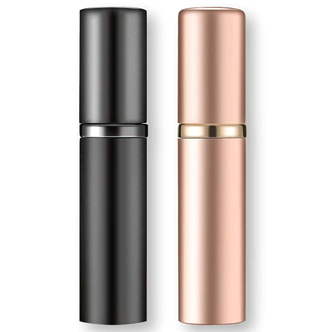 時折レジデンス電信フェリモア アトマイザー 香水 詰め替え クイック補充 漏斗不要 旅行用 機内持ち込み可 2色セット