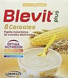 Blevit Plus 8 Cereales - Paquete de 2 x 300 gr - Total: 600 gr