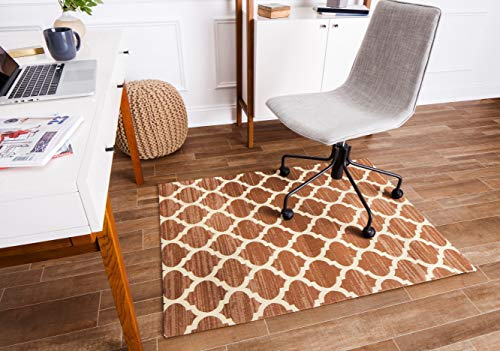 Anji Mountain Rug'd Collection Chair Mat, 36 x 48-Inch, Nizwa