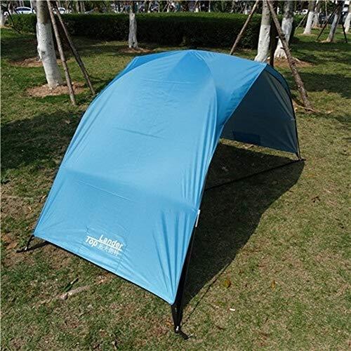 YOBAIH Sonnensegel Balkon Sun Shelter-Zelt for Strand-Sommer im Freien UV Tarp Sonnenschutz Strandtent Cabana Camping Fischen Markise Sonnenschutz Strand-Zelt-Überdachung Balkon Sonnenschutz