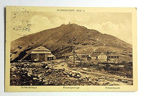 Schneekoppe, Schlesierhaus, Riesengebirge, Riesenbaude