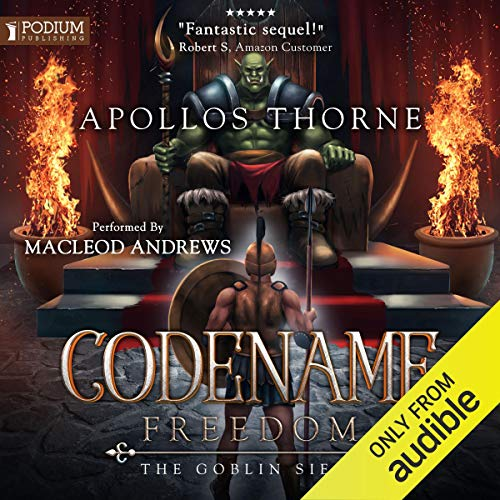 The Goblin Siege audiobook cover art