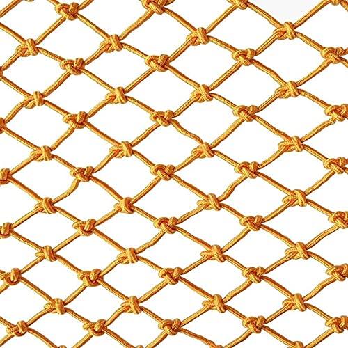 MFLASMF Red de Seguridad Red de Seguridad para protección de balcón Red de Cuerda de Seguridad, decoración de Dormitorio Infantil Red para escaleras Protección anticaída Red de Valla de ba