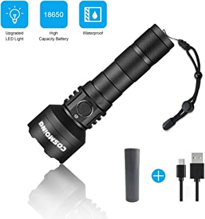 Best 600 lumen tactical flashlight Reviews