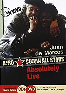 Gonzales, Juan de Marcos - Absolutely Live by Juan de Marcos Gonzales