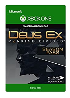 Deus Ex: Mankind Divided - Season Pass [Xbox One - Download Code] (B01IUN6R9G) | Amazon price tracker / tracking, Amazon price history charts, Amazon price watches, Amazon price drop alerts