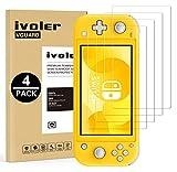 VGUARD Pack de 4 Verre Trempé pour Nintendo Switch Lite, Film Protection en Verre trempé écran Protecteur vitre - Anti Rayures - Ultra Résistant Dureté 9H pour Nintendo Switch Lite