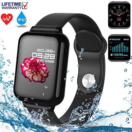 【2020 Nuevo】Reloj inteligente, Smartwatch, Reloj Deportivo Bluetooth,Reloj Inteligente Impermeable…