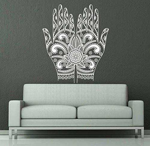 ganlanshu Bergamotte Silhouette tribal wandtattoos Home Wohnzimmer Kunst Dekoration wandmalerei Aufkleber Religion tapete 57 cm x 66 cm