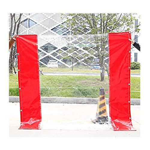 YJFENG Tarea Pesada Panel Lateral De La Tienda, Paneles De Valla De PVC, Terrazas Cortinas Impermeables, Lona Transparente Costura De Lona Revestida, para Gazebo
