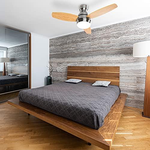 SOGO Ventiladores para el techo con lámpara