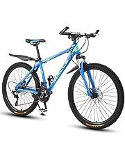 Kays Mountainbike,26 Inch Vrouwen/Mannen MTB Fietsen Lichtgewicht Carbon Staal Frame 21/24/27 Snelheden Voorvering