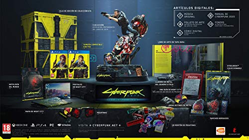 Cyberpunk 2077 - Edición Day One (Code in a Box) + Llavero Maelstrom - Cyberpunk 2077