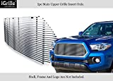 APS Compatible with 2016-2017 Toyota Tacoma Basic Model Stainless Steel Billet Grille Insert T86358S